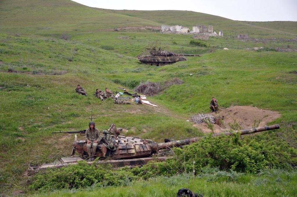 Президент Азербайджану назвав умову припинення військових дій в Нагірному Карабаху