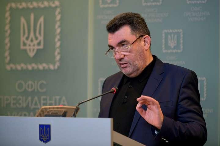 Секретарь СНБО не исключает, что по приговору Стерненку стоят заказчики