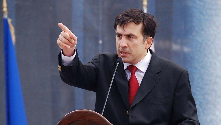 На Саакашвілі напали в київському ресторані – відео