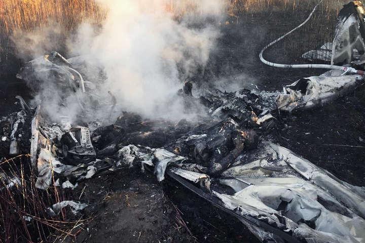 Двоє людей загинули під час аварії легкомоторного літака в Росії (відео)