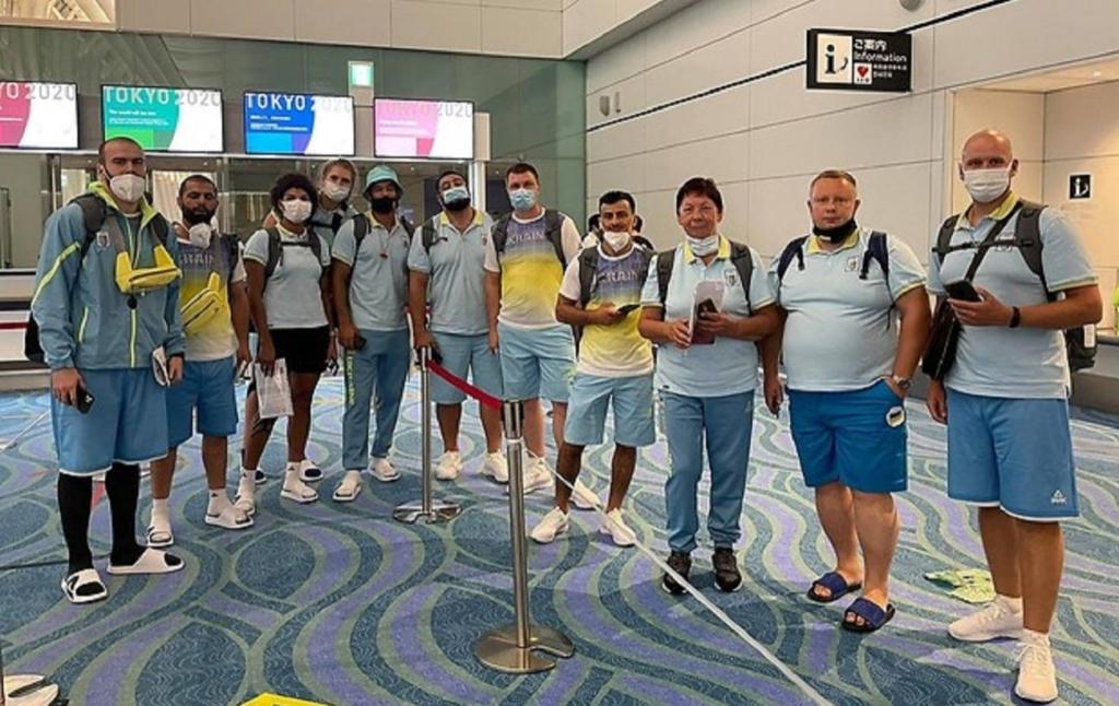 Перші українські спортсмени прибули на Олімпіаду в Токіо