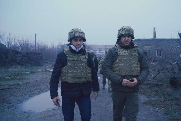 Єрмак розповів про важливе досягнення України на Донбасі