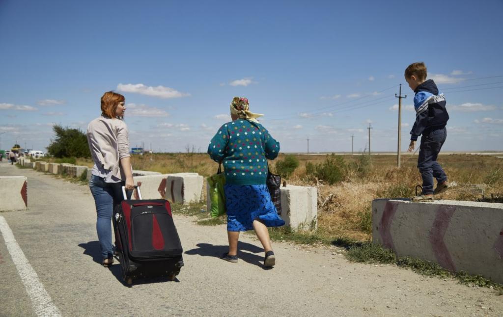 Жителей ОРДЛО не будут штрафовать за въезд в Украину через Россию