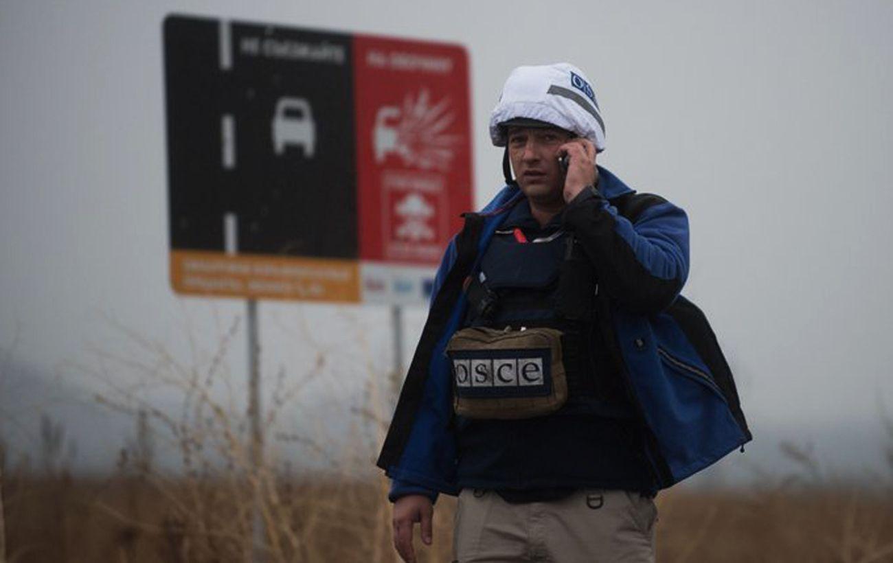 Окупанти в Донецьку послабили блокаду місії ОБСЄ