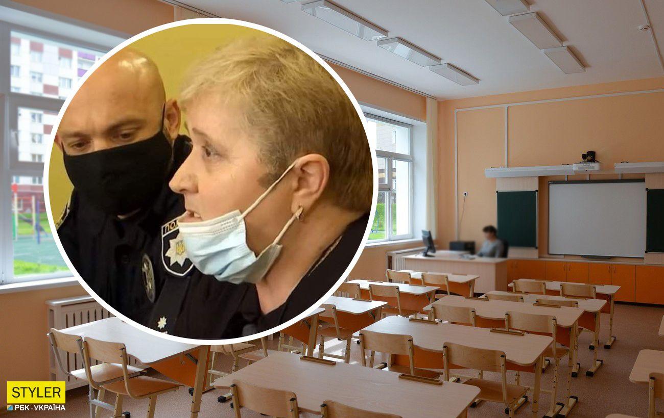 Под Львовом учительница заставляла ученика есть бумагу и угрожала ножом: чем закончился скандал