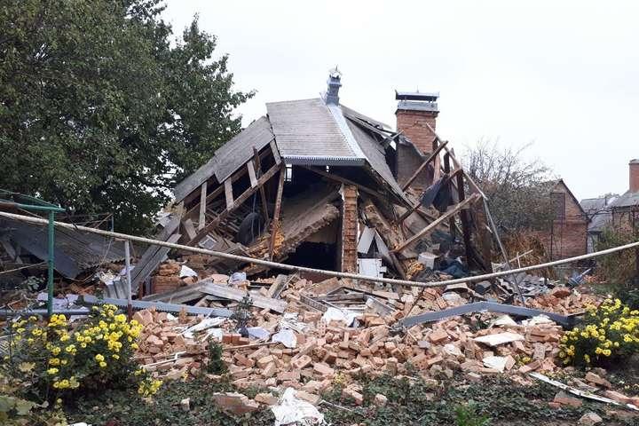 На Кіровоградщині стався вибух у будинку: будівля повністю зруйнована (фото)