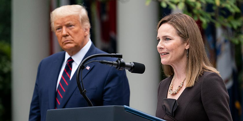 Трамп збирається призначити до Верховного суду консервативну кандидатуру