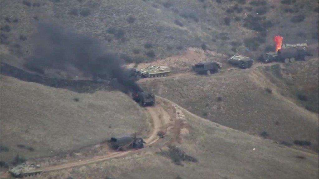 Україна відреагувала на конфлікт в Нагірному Карабаху