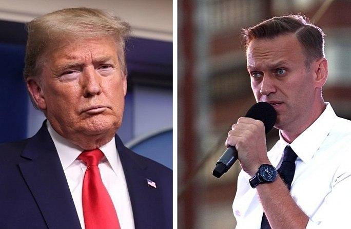 Трамп дав перший коментар з приводу отруєння Навального