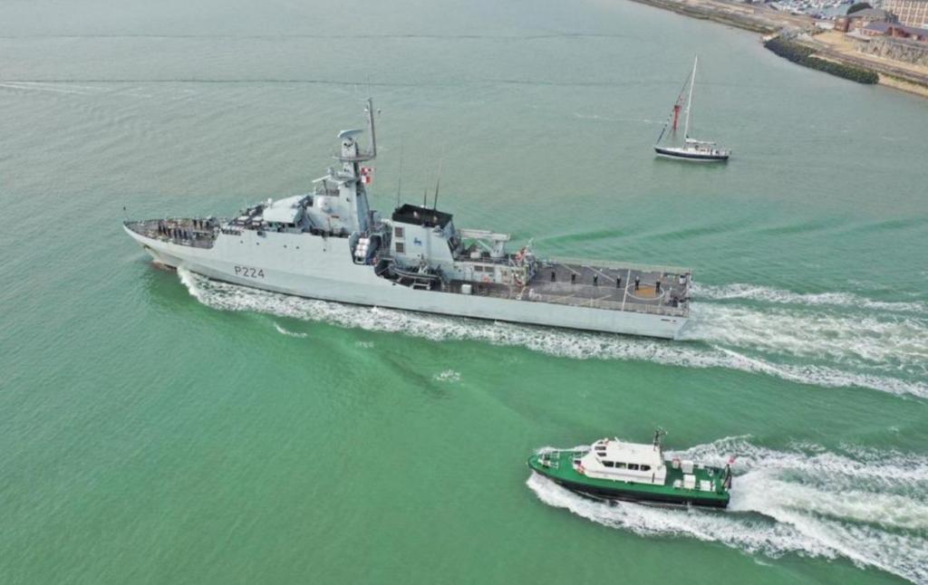 У Чорне море зайшов британський військовий корабель Trent. Він прямує в Одесу