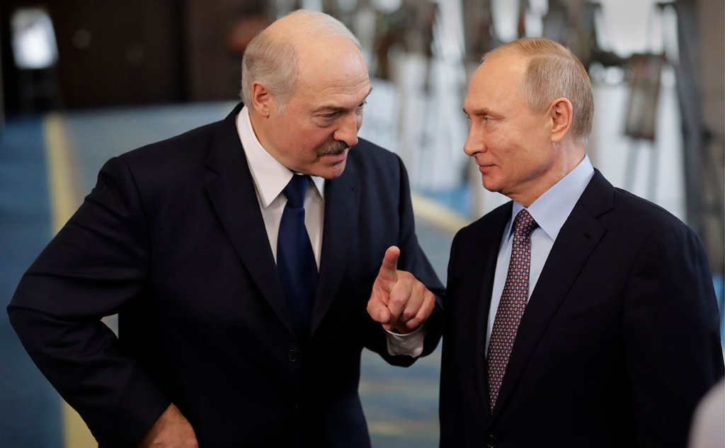 Лукашенко і Путін домовилися випробувати російську вакцину від коронавірусу на білорусах