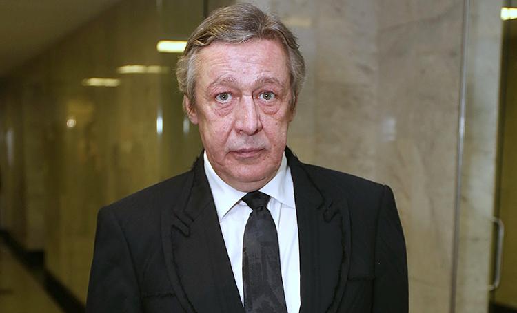 У Михайла Єфремова — інсульт: що відомо про стан актора