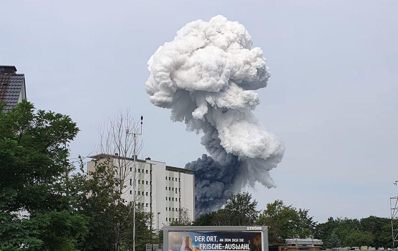 Кількість жертв вибуху на хімзаводі в Німеччині знову збільшилася