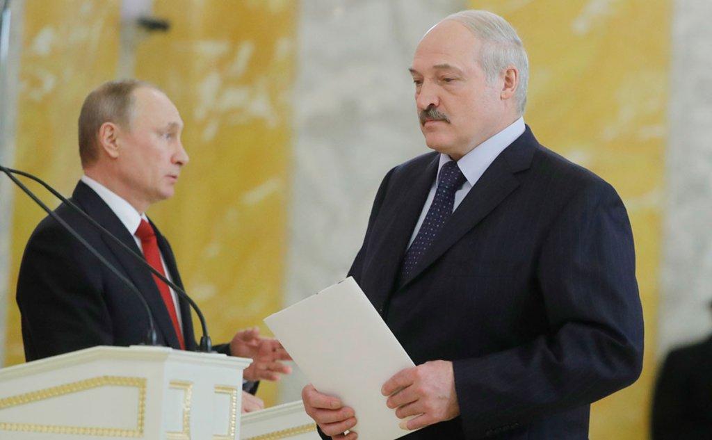 Путін привітав Лукашенка з «перемогою» на виборах президента Білорусі