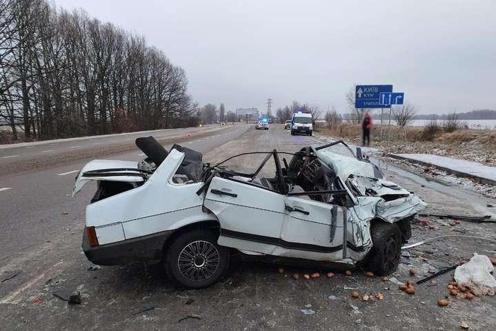 На Киевщине прошедшие сутки произошло более 30 ДТП