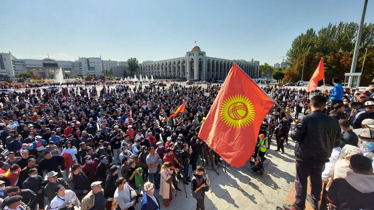ЦВК Киргизії визнала підсумки виборів до парламенту недійсними