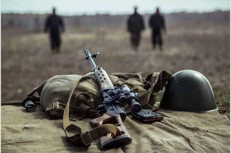 Залишився без ноги: на Донбасі підірвався російський офіцер