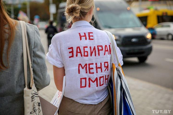Марш Жінок в Мінську: нові затримання на День міста