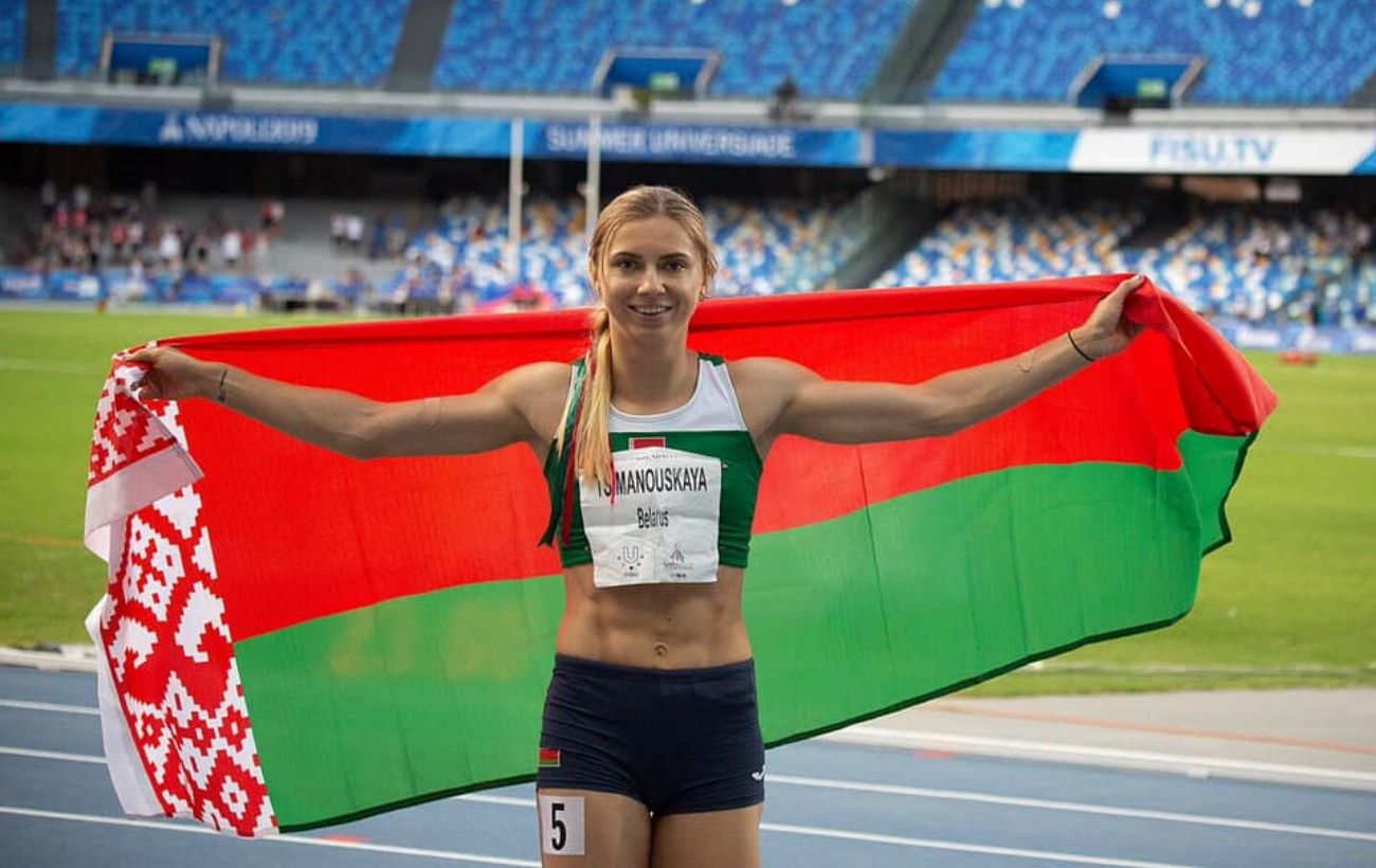 У Білорусі скандал зі спортсменкою на ОІ-2020. Її намагаються силою повернути в Мінськ