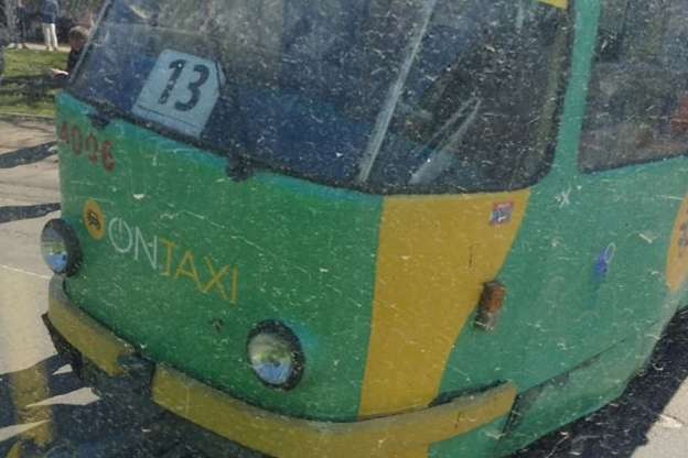 У Одесі зійшов із рейок трамвай №13
