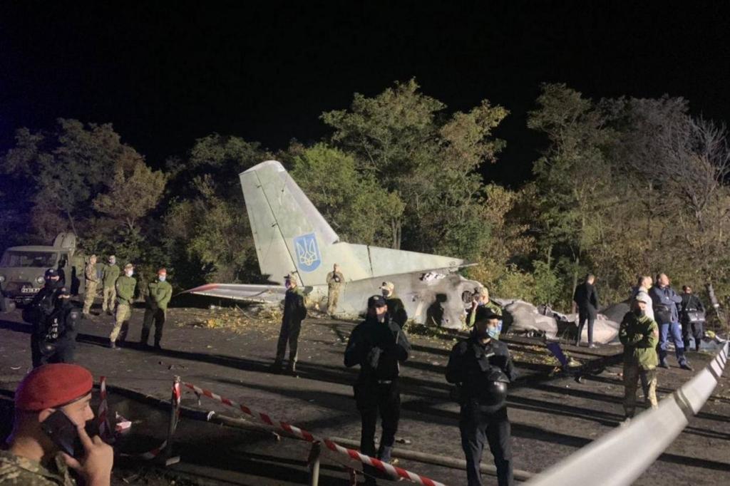 Авіакатастрофа під Харковом: що відомо про стан курсанта, що вижив