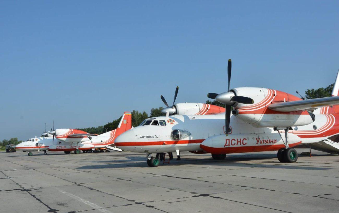 Украинские спасатели показали, как помогают тушить лесные пожары в Турции