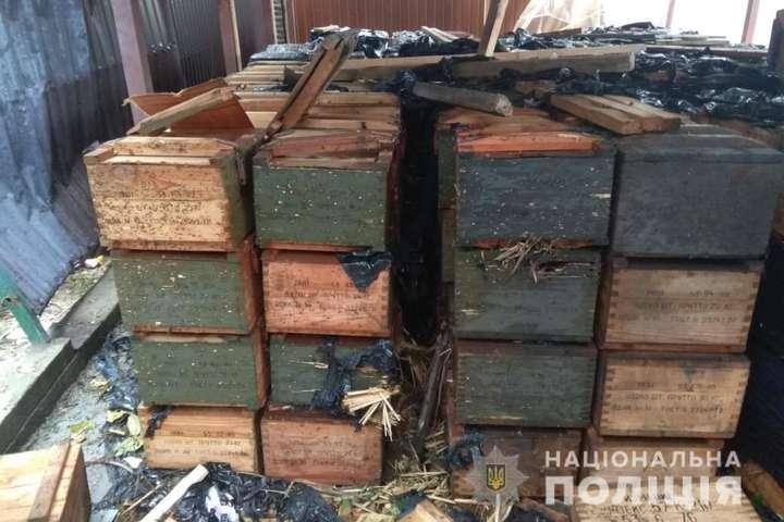 Под Киевом от взрыва боеприпасов погиб человек (фото)