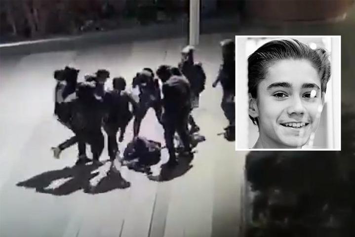Из больницы выписали украинского подростка, которого жестоко избили в Париже