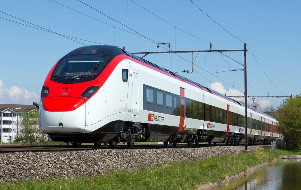 Україна домовилася про локалізацію виробництва швейцарських поїздів
