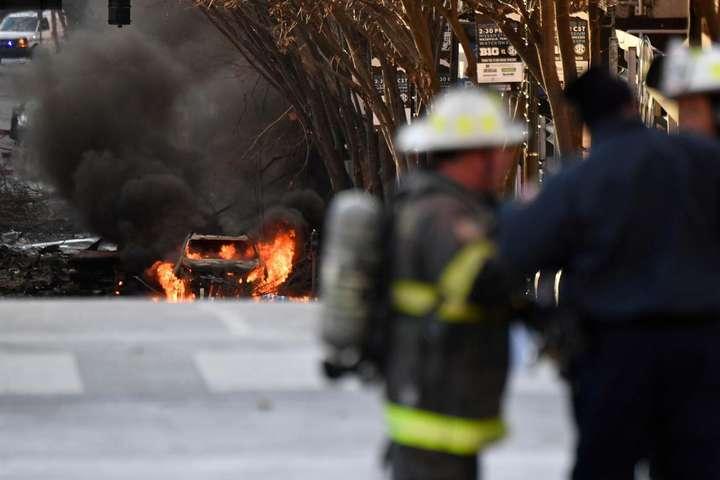 Полиция США нашла человека, связанную со взрывом фургона в Нэшвилле