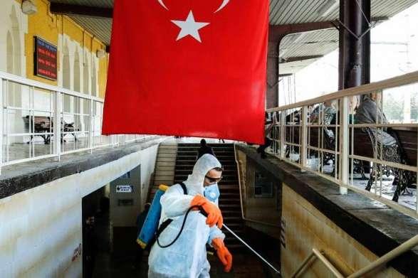 Турция бьет рекорды по количеству больных коронавирус