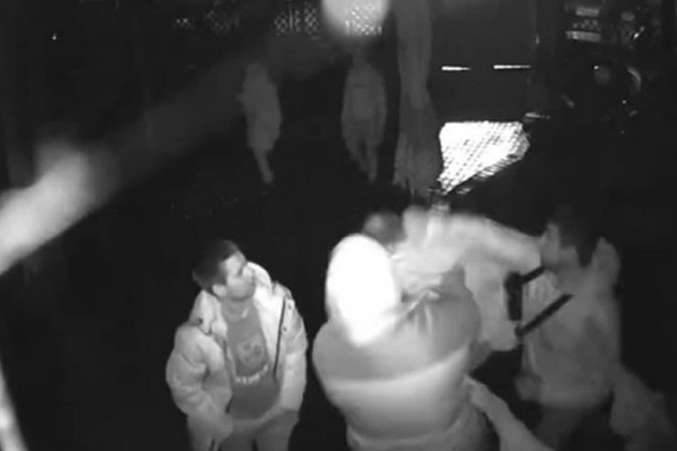 Смертельный конфликт: появилось видео убийства военного в Новой Каховке