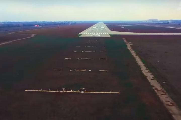 Одеський аеропорт отримав нову злітно-посадкову смугу