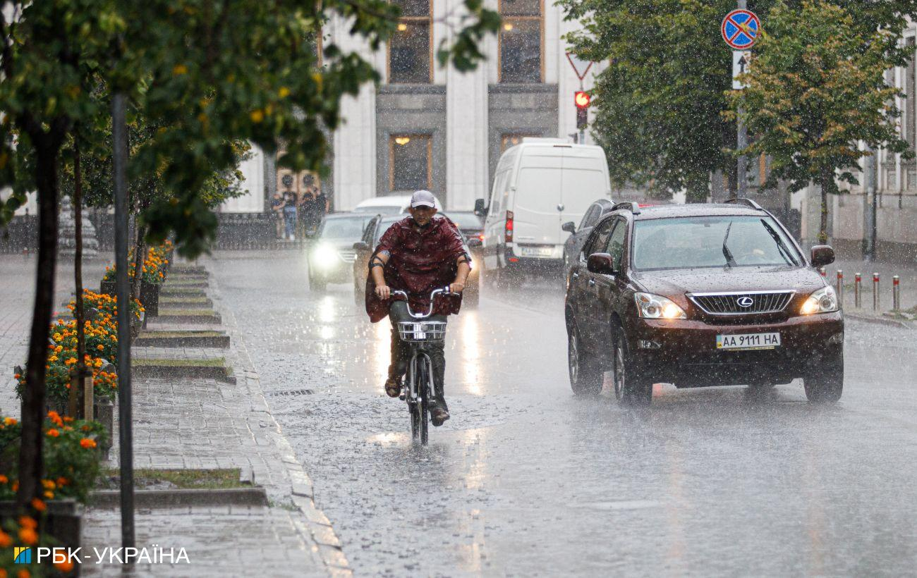 Дожди на востоке и западе и сухо в центре Украины прогноз погоды на сегодня