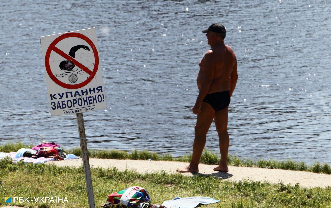 За июль в Украине утонули почти 400 человек, с начала года — 900