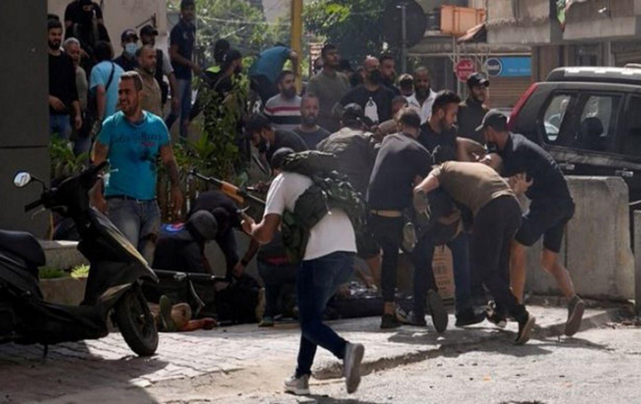 У Бейруті на акції протесту сталася стрілянина. Українців серед жертв немає, – МЗС