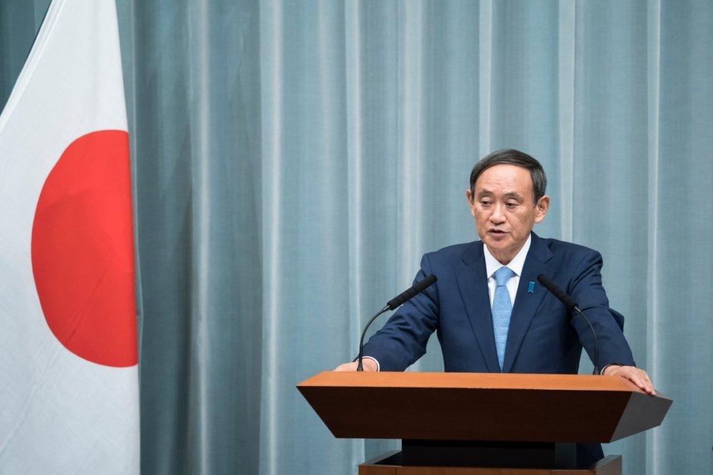 Есіхіде Суга став новим прем'єр-міністром Японії