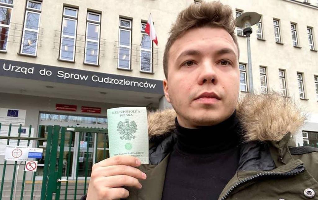 Протасевича доправили в СІЗО КДБ у Мінську