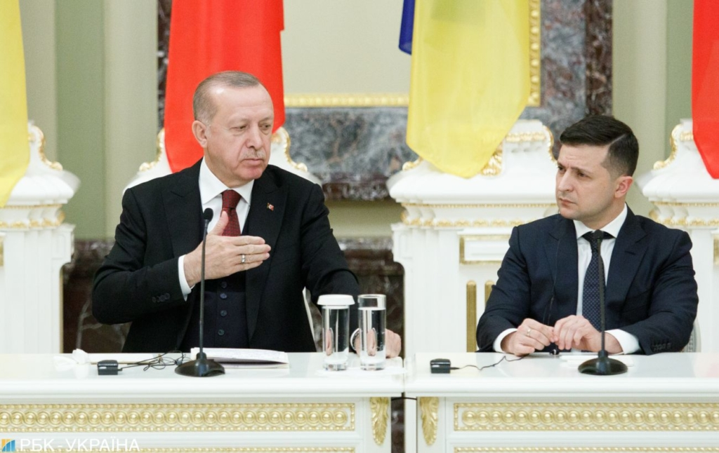 Ердоган скаржився Зеленському на погрози з боку Путіна, – WSJ
