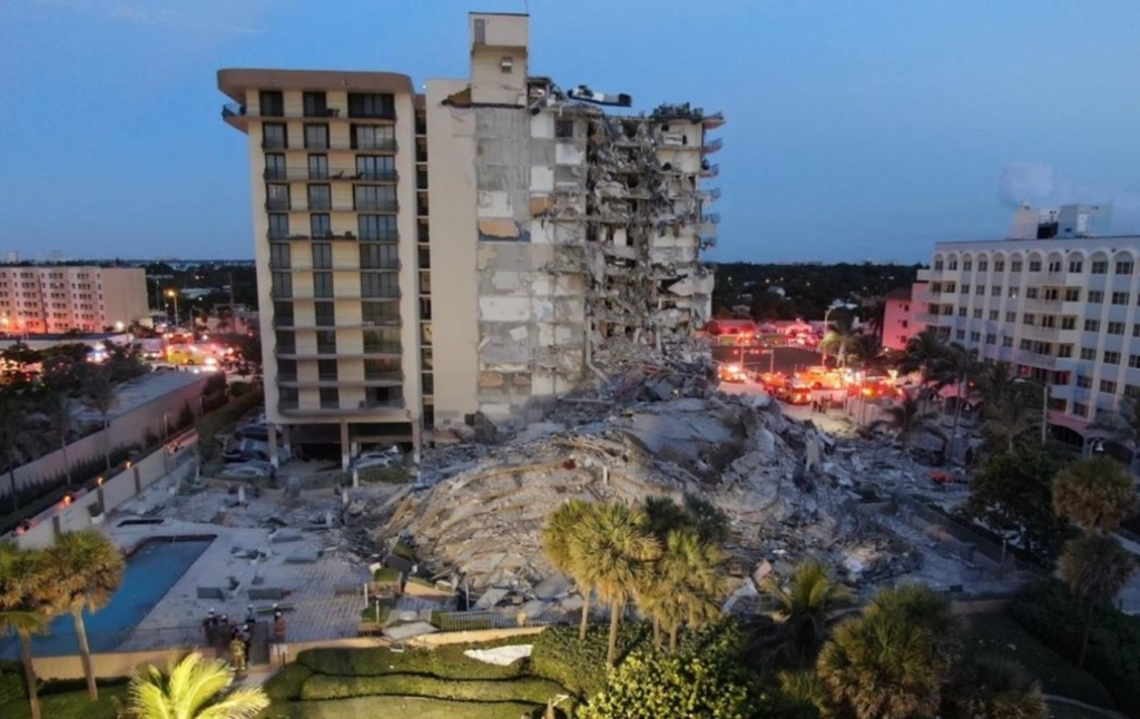 Кількість жертв обвалення будинку в Майамі зросла до 10, під завалами – 151 людина