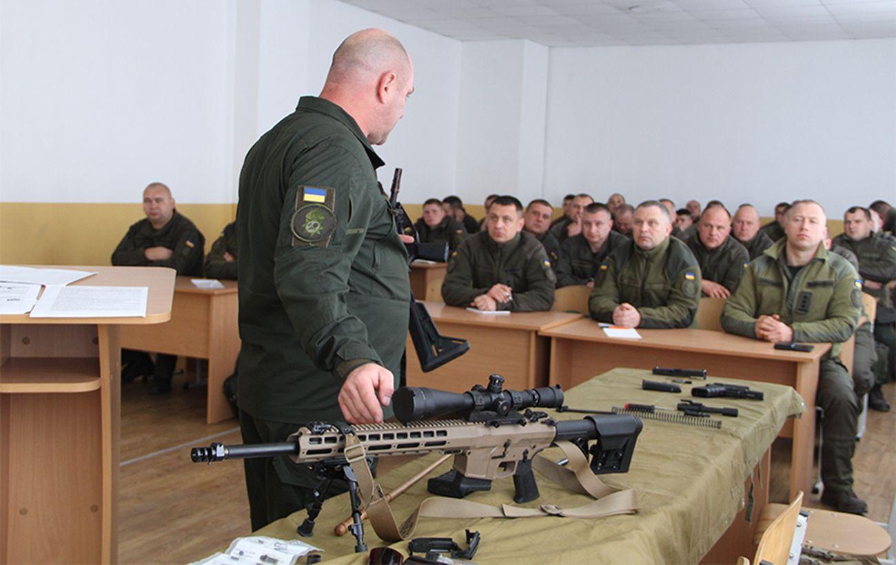 Нацгвардія відмовиться від радянських автоматів і перейде на нові українські гвинтівки
