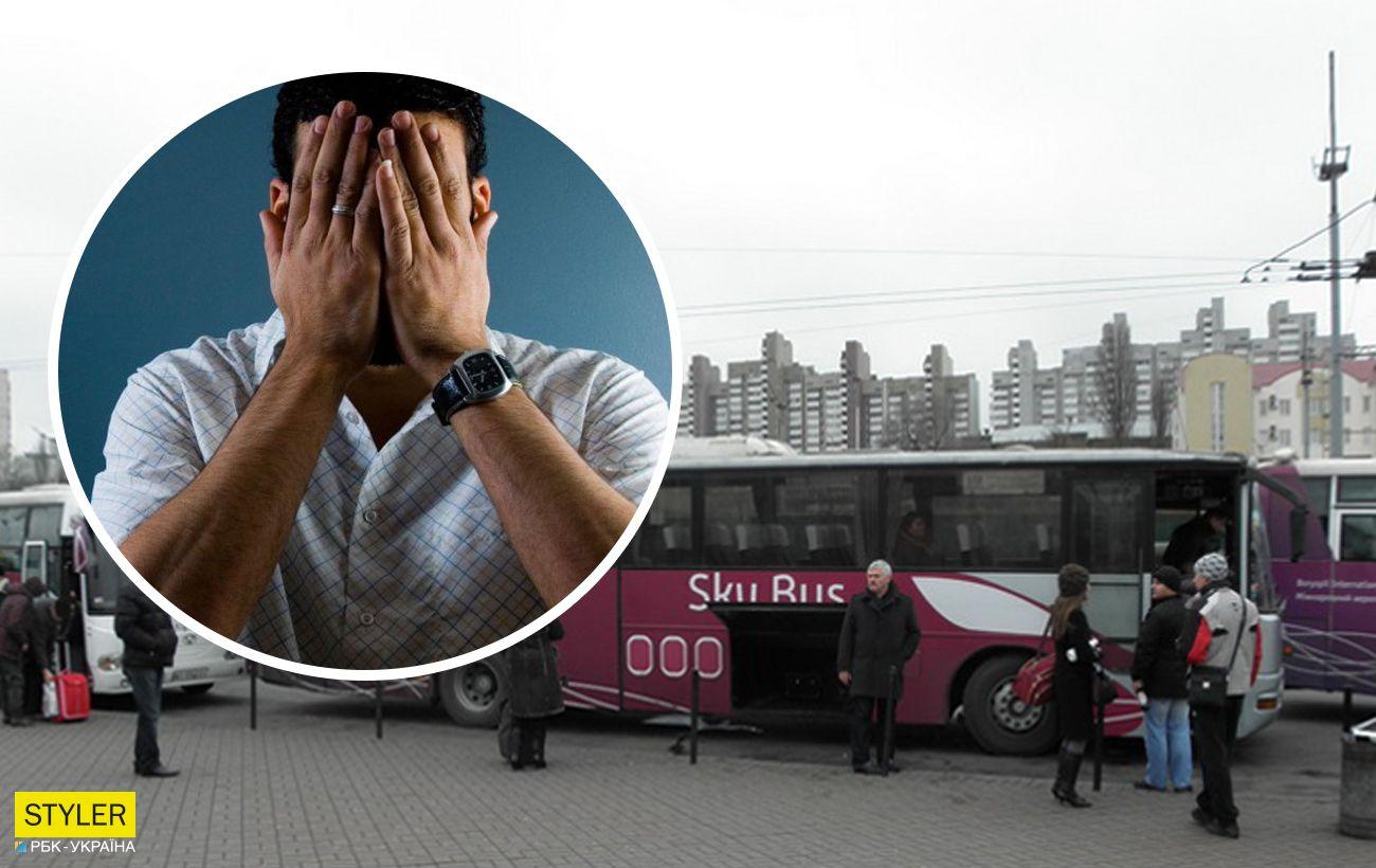 У Києві водій автобуса обматюкав ветерана АТО і виганяв його з транспорту (відео)