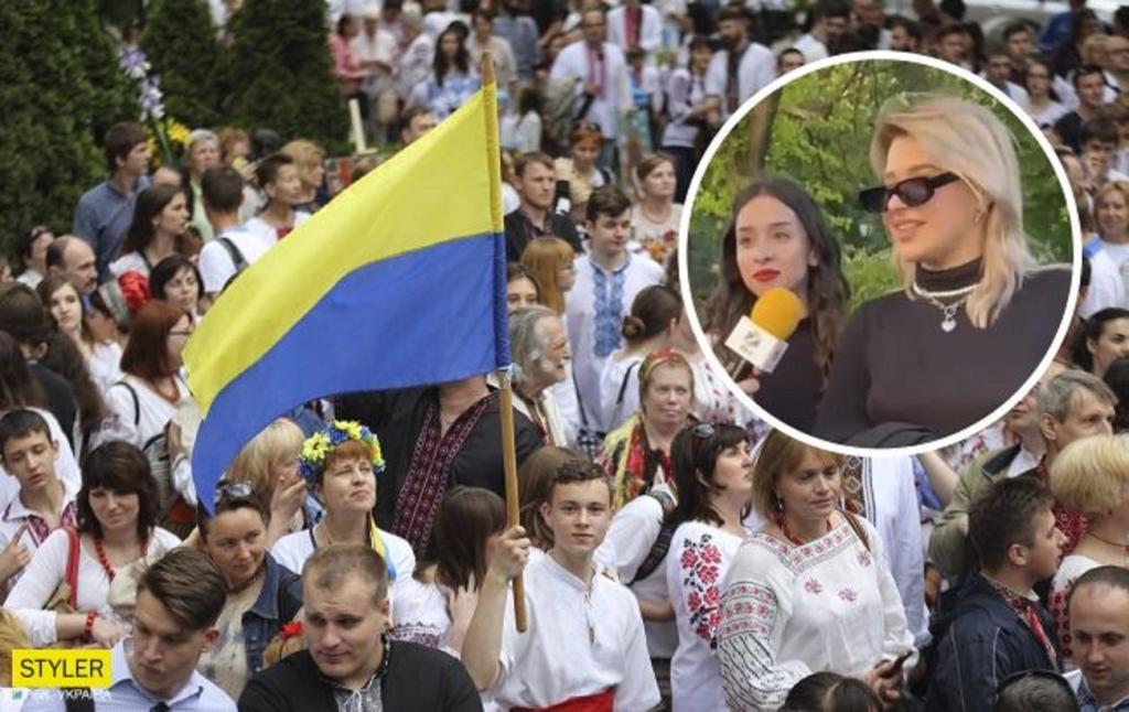 """Харьковчанка, которая оскорбила участников парада вышиванок, раскаялась на видео: """"я вполне поплатилась"""""""