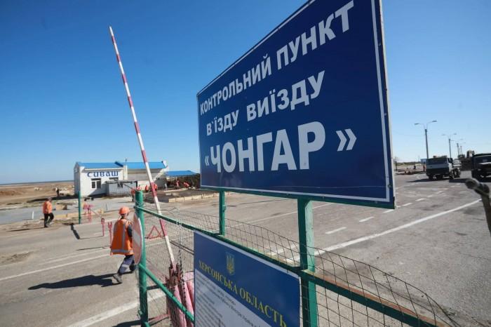 Черг на в'їзд в Крим з материкової України немає