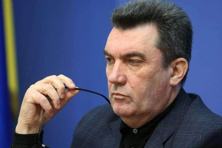Данилов раскрыл планы следующего заседания СНБО