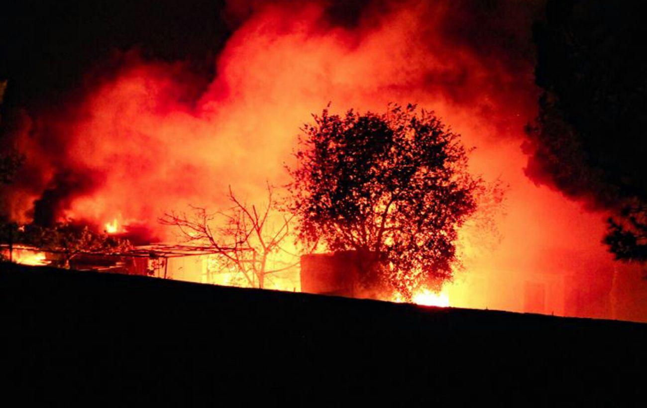 В США лесные пожары охватили 12 штатов